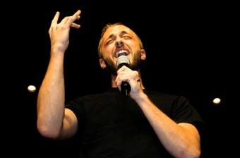 Passionate singer of Christian music