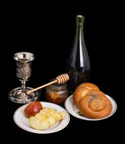 Food served on Yom Kippur